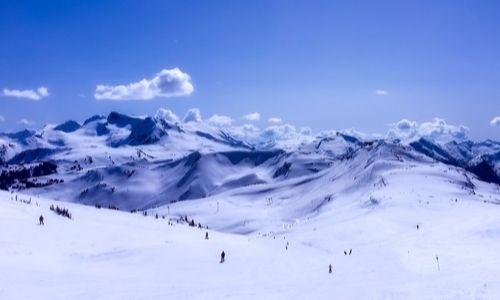 Ski resort canada